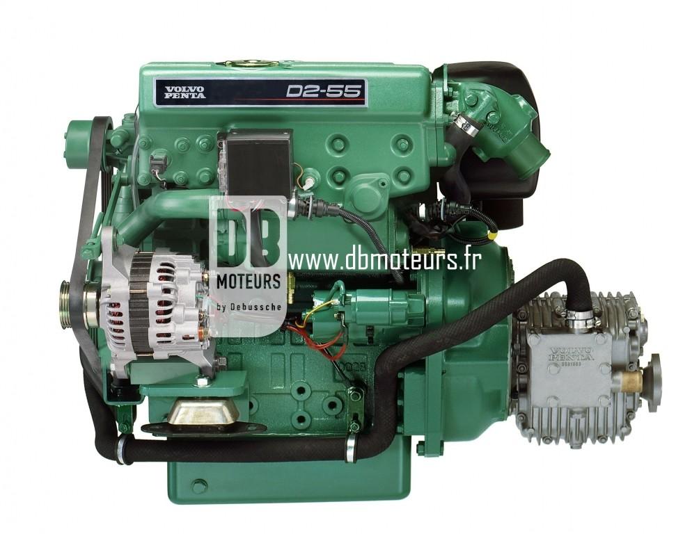moteur volvo penta d2-55 avec transmission inverseur6