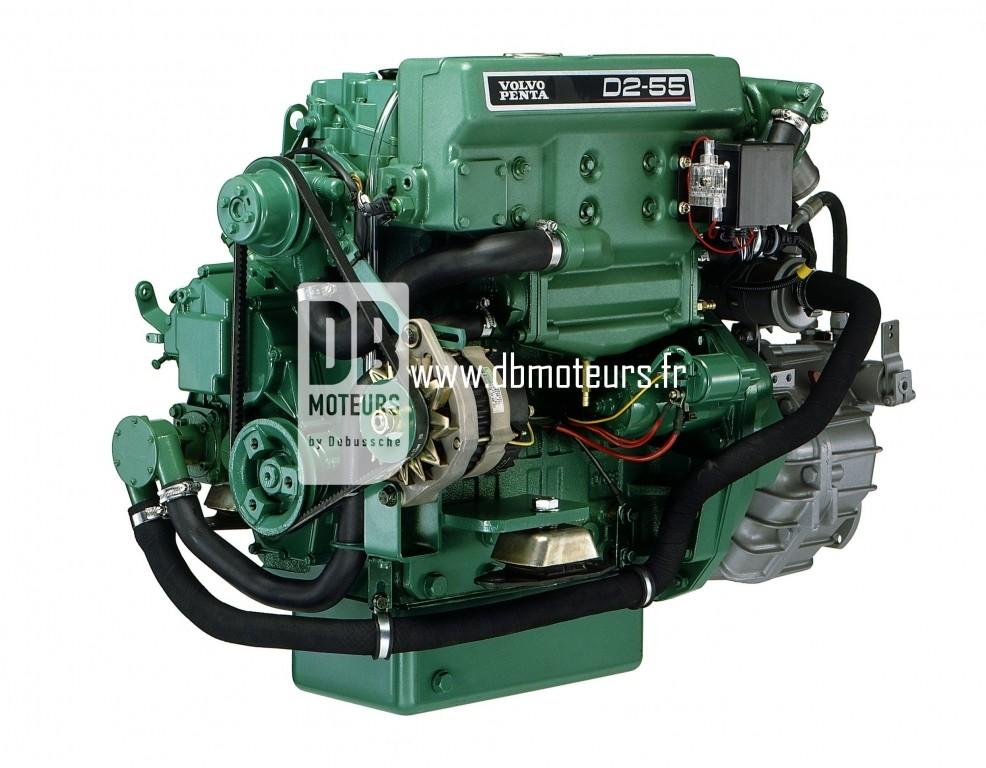 moteur volvo penta d2-55 avec transmission inverseur7
