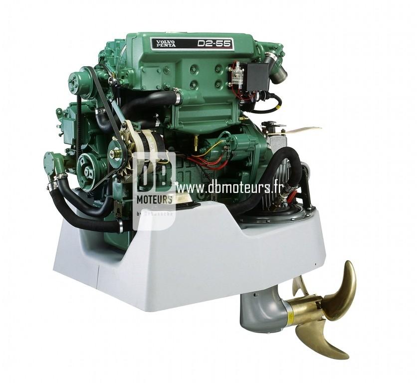 moteur volvo penta d2-55 avec embase2