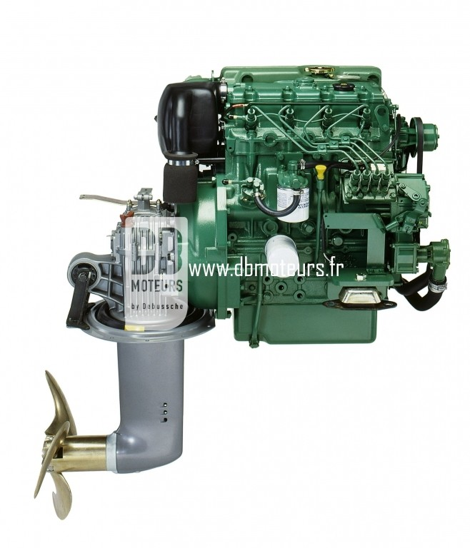 moteur volvo penta d2-55 avec embase4