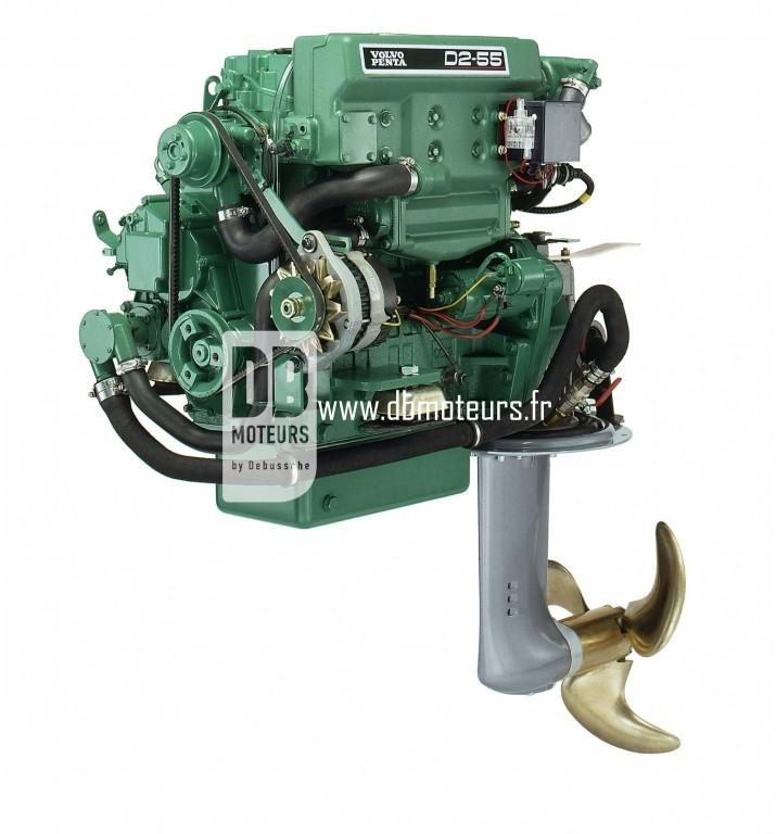moteur volvo penta d2-55 avec saildrive2