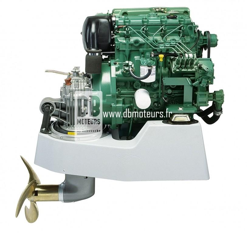 moteur volvo penta d2-55 avec saildrive4