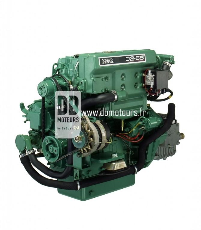 moteur volvo penta d2-55 avec transmission inverseur3