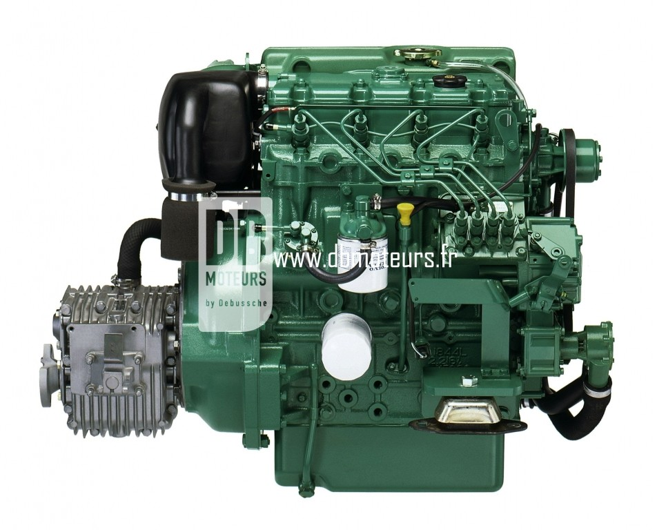 moteur volvo penta d2-55 avec transmission inverseur4