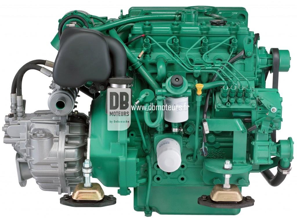 moteur marin volvo penta d2-75 avec inverseur5