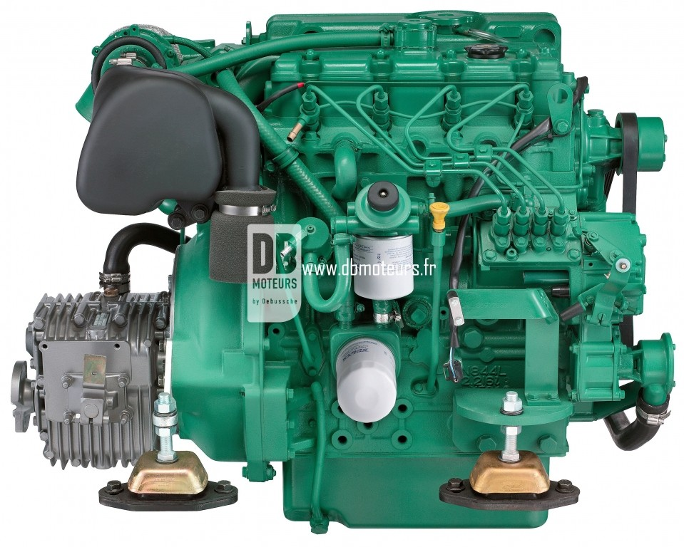 moteur marin volvo penta d2-75 avec inverseur6
