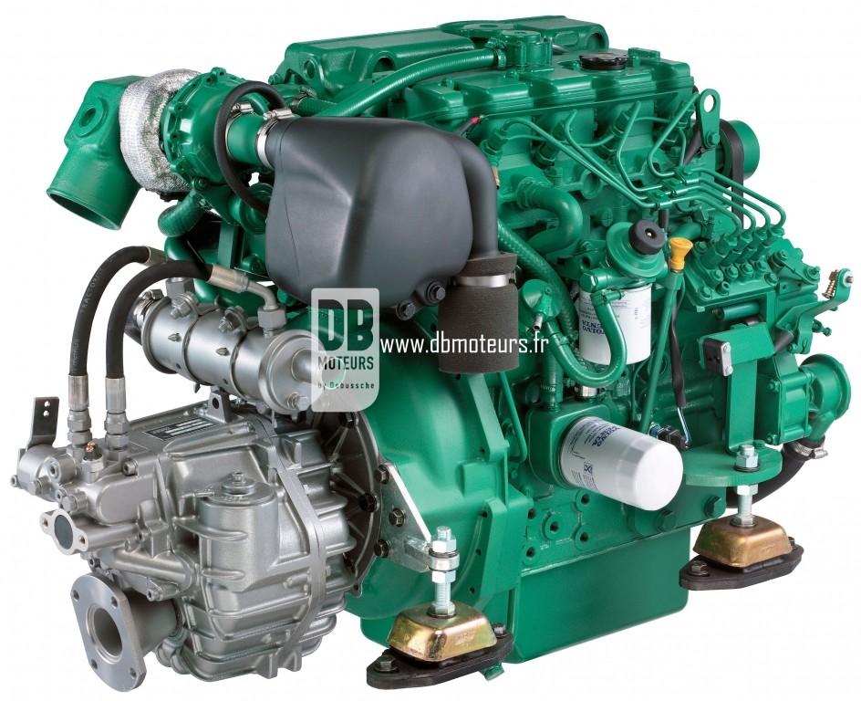 moteur marin volvo penta d2-75 avec inverseur2