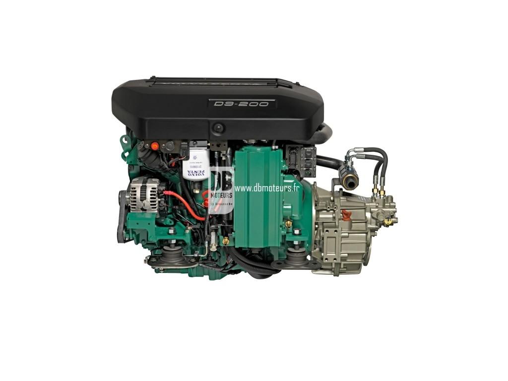 moteur marin volvo penta d3-200 avec inverseur