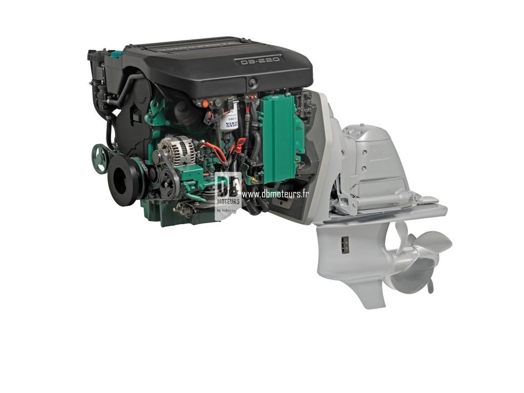 moteur marin volvo penta d3-220 avec embase6