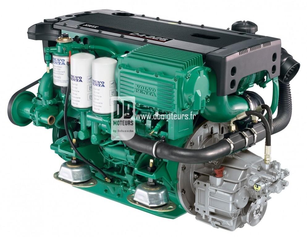 moteur volvo penta d4-225 avec inverseur