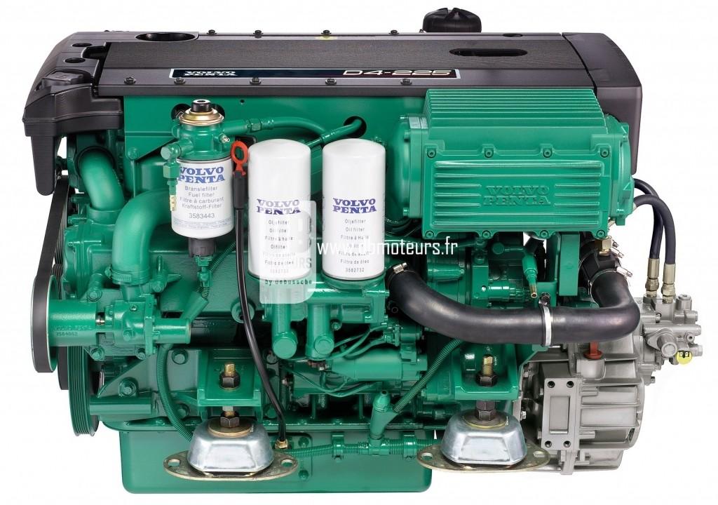 moteur volvo penta d4-225 avec inverseur2