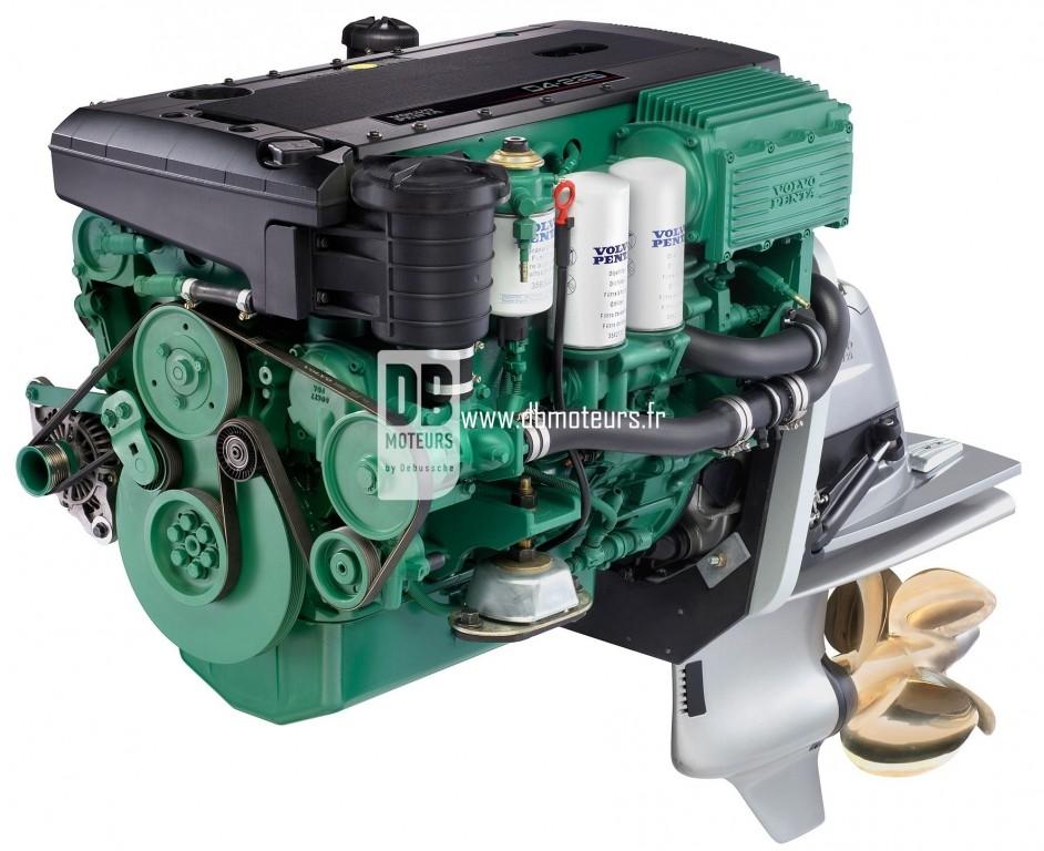 moteur volvo penta d4-225 avec embase