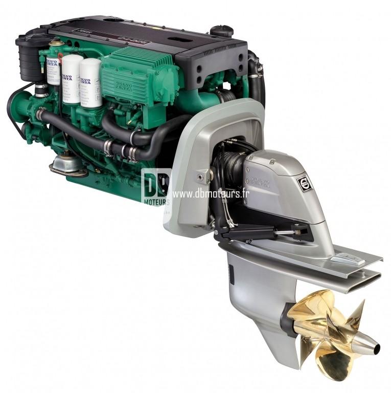moteur volvo penta d4-225 avec embase3
