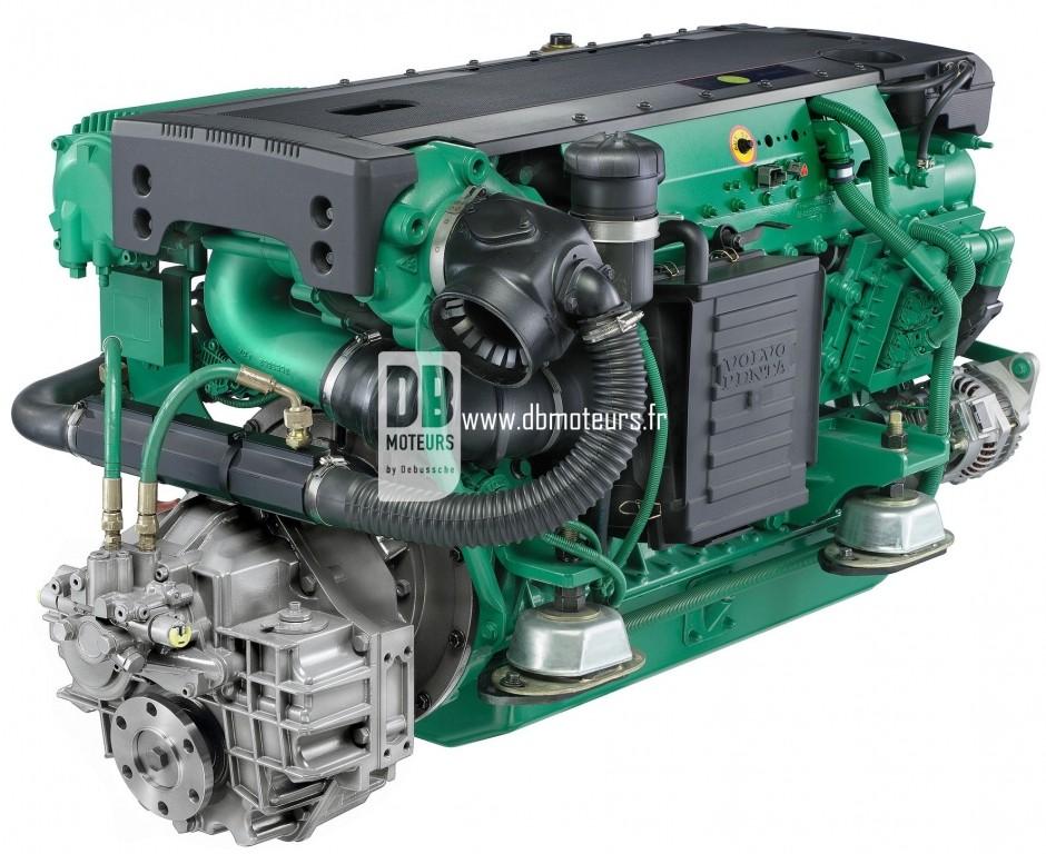 moteur marin volvo penta d6-330 ligne d'arbre3