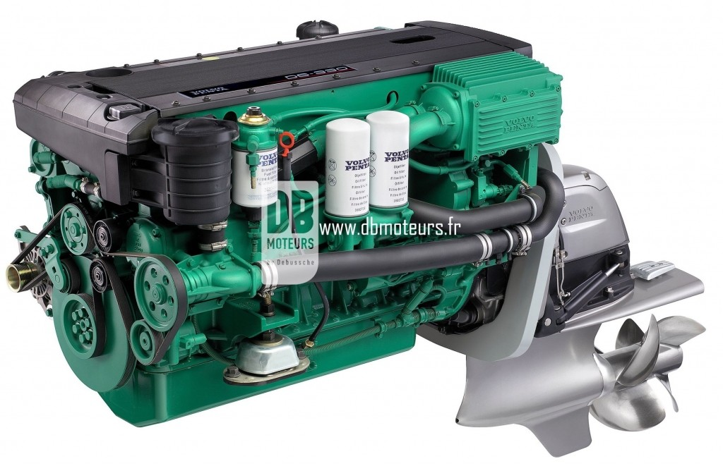moteur marin volvo penta d6-330 avec embase3
