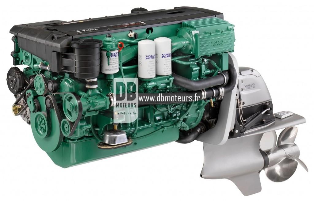 moteur volvo penta d6-370