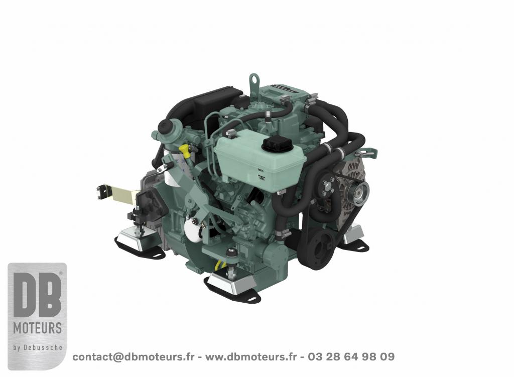 moteur inboard 13 chevaux