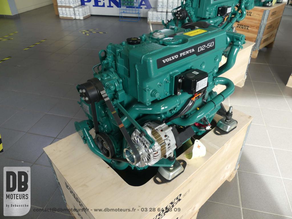 moteur marin inboard ligne arbre 50 chevaux