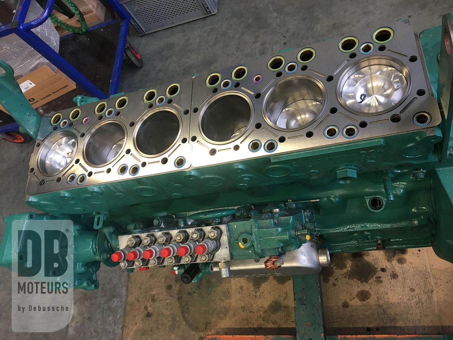 moteur marin reconditionné