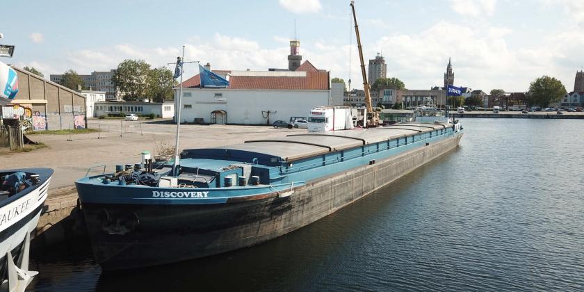 Remotorisation transport fluvial volvo penta
