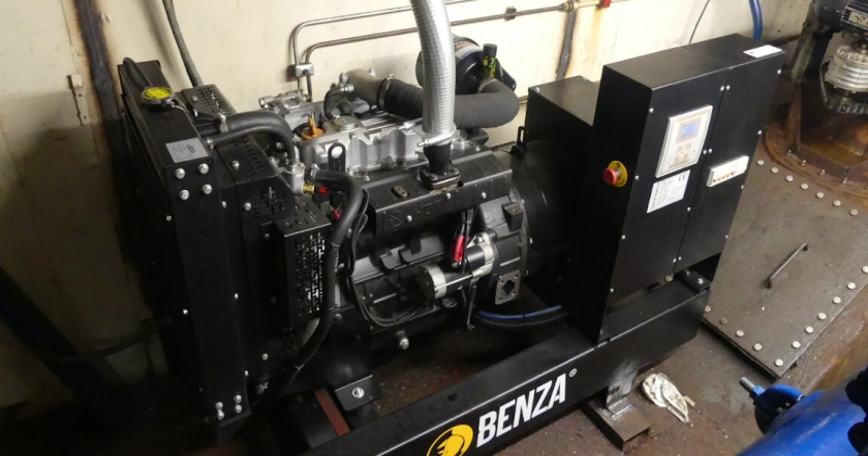 installation groupe electrogène Benza